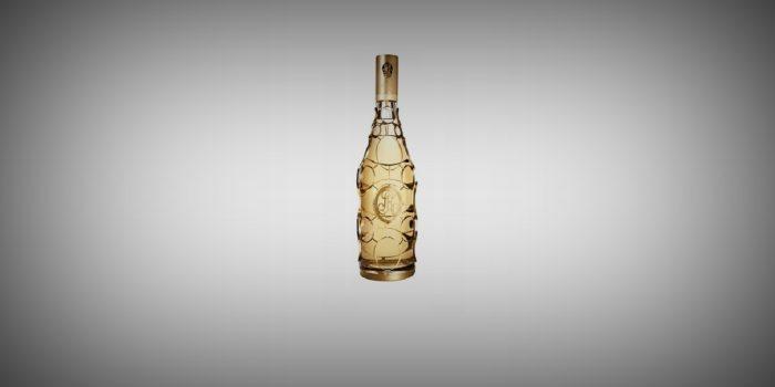 <h2>Эксклюзивное шампанское Cristal 2002: флакон-медальон в золотой оправе</h2>