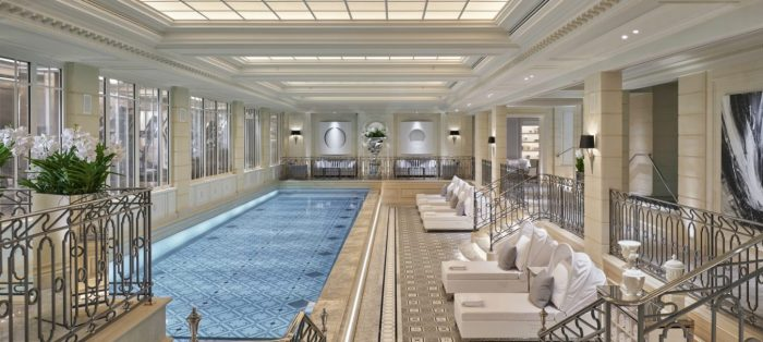 <h2>Новый СПА в Four Seasons George V</h2><h3>27 Июля 2018</h3><h4>Париж, Франция</h4>